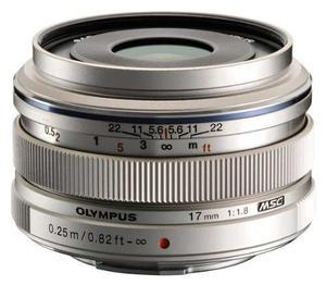 Lente Olympus 17mm F1.8 M.zuiko (plata) Para Olympus Y Pana