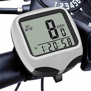 Toda La Cesta Wireless Odómetro De La Bicicleta, Luz De Fon