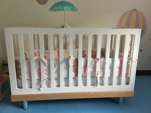 Cuna para Bebe con Colchon Serta