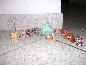 Littlest Pet Shop El Campamento de las mascotas usado,