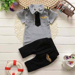 Moderno Set De Pantalon Y Camisa Para Niño  Meses