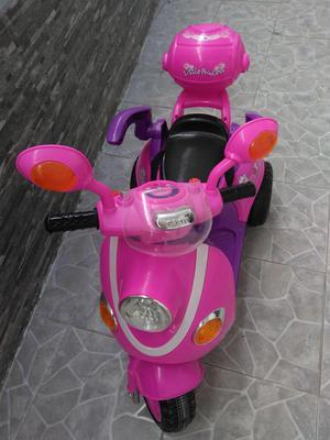 Moto Electrica Recargable para Niña