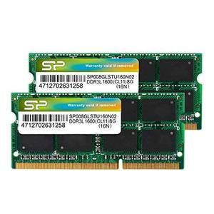 204 Pin Dual 1,35 V / 1,5 V Sodimm Portátil Sp016glstu160n2