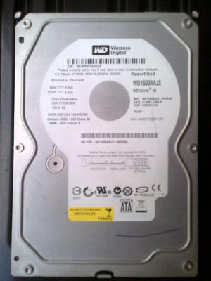 Disco duro 160gb sata para PC vendo o cambio por 160gb para