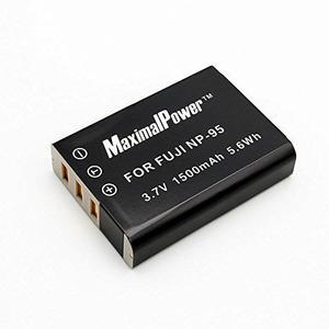 Maximalpower Db Fuj Np-95 Batería De Repuesto Para Fujifilm