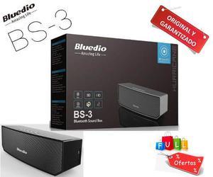 Parlante Bluetooth Recargable Portátil Bluedio Bs-3 Camel