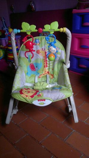 Silla mecedero bebe silla mecedora con motor posot class for Silla mecedora fisher price