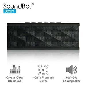 Soundbot Sb571 Altavoz Inalámbrico Bluetooth 12w De Salida