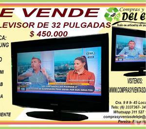 TELEVISOR DE 32 PULGADAS