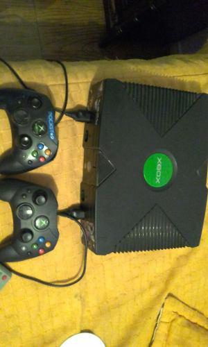 Xbox Clasico Dos Controles