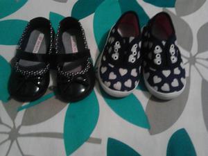 Zapatos Talla 21 Niña