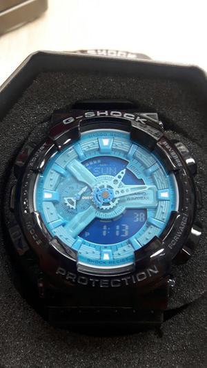 Reloj Casio Sumergible Fondo Azul