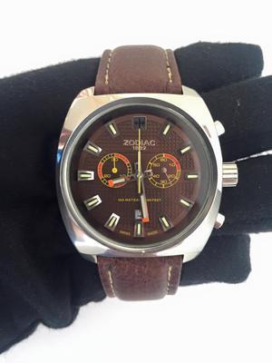 Reloj zodiac f suizo m original full size posot class - Reloj pared original ...