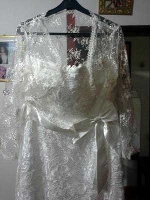 Se Vende Vestido de Matrimonio Completo