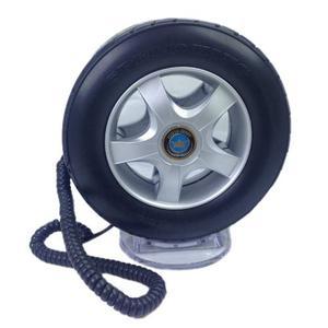 Teléfono Fijo Alámbrico En Forma Llanta Auto F1 - Negro