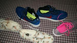 Tenis Originales Nike Y Vans