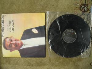 Vinilo LP Acetato Pedro Vargas Grande Grande Grande