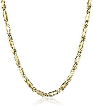 14k Collar De Oro Amarillo Cadena Suprema, 18 !