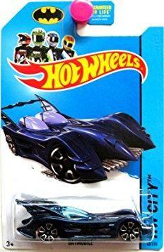 Coleccionable Hot Wheels Batman 75 Aniversario  Hw Ciud