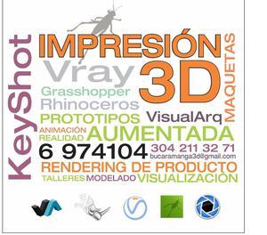 Impresion 3d en Bucaramanga