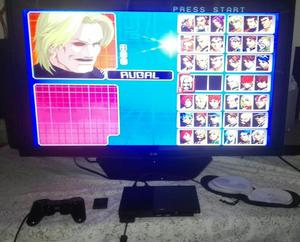 PS2 Slim Mini Como Nuevo, Control Original, Memory Card 8Mb,