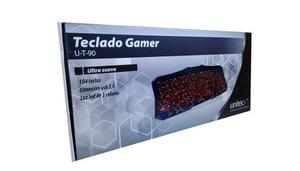 Teclado Gamer Unitec Usb U-t-90