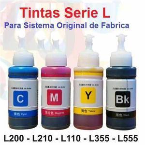 Tintas Epson Serie L L120 L200 L210 L355 L555 L475 L565 L800