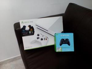 vendo xbox one s con dos controles y dos juegos exelente