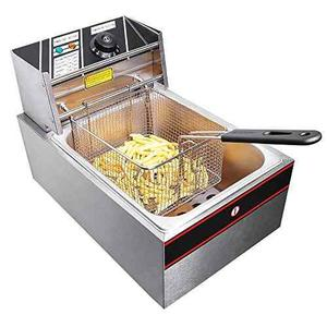w 6 Litros Electric Countertop Deep Fryer Tanque De C...