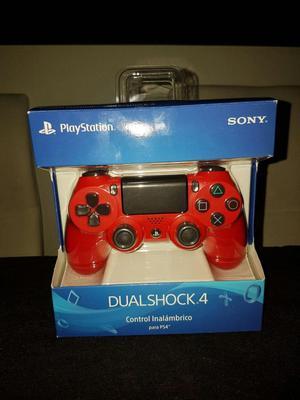 Control Ps4 Rojo 2da Gen Dualshock 4 Original
