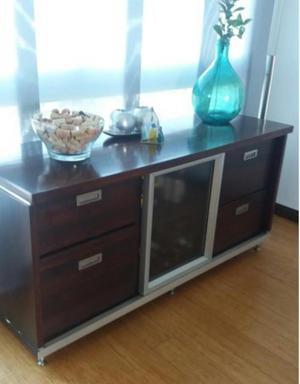 Muebles de madera para guardar ropa for Vendo muebles zapateros