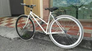 Bici Tipo Fixie Mujer