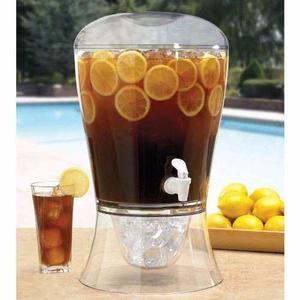 Dispensador De Bebidas Con Infusor De Frutas Y Hielera 7.5lt
