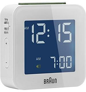 Braun Bnc008wh Lcd Cuarzo Reloj Despertador