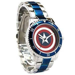 Capitán América Reloj De Blindaje Con La Pulsera De La