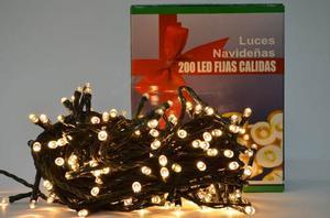 Luces Navideñas X 200 Bombillos Led Luz Calida F