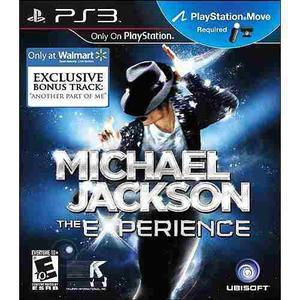 Michael Jackson: La Experiencia Con Pista Exclusiva (ps3)