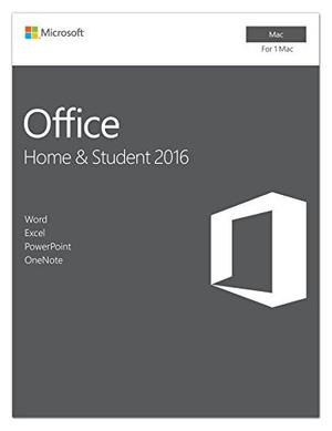 Microsoft Office Hogar Y Estudiantes  Para Mac   1 Usua