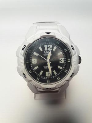 Reloj Qq Blanco Original Sumergible