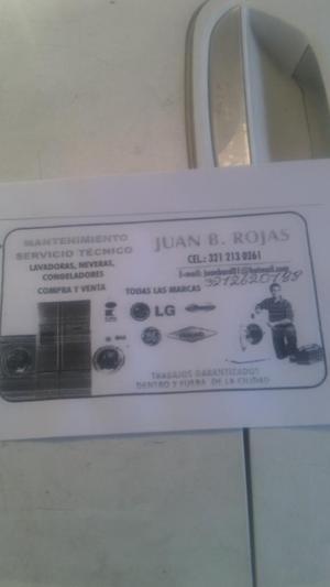 Servicio Técnico de Lavadoras Y Neveras
