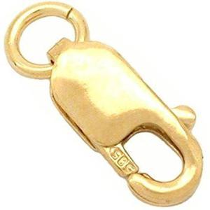 Una Joyería 14k Oro Amarillo Sólido Bisutería 8x3mm