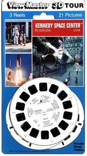 View-master 3d 3-carrete Tarjeta Centro Espacial Kennedy De