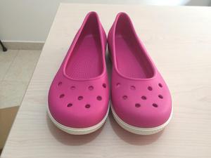Zapatos Crocs Baletas Originales Importados Nuevos Talla 8