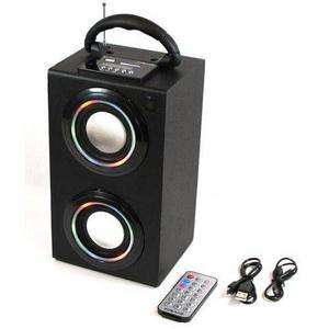 Altavoces De Craig Bluetooth Digital Mini Torre Con Luces