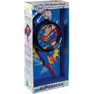 Nj Croce Superman 3d Movimiento Reloj