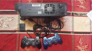 SONY Play Station PS2 original, con controles, memoria y 10