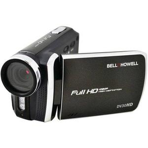 Bell + Howell Dv30hd Negro p Videocámara Delgado De
