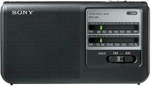 Radio Sony Icf 38 Am-fm De Energia Y Pilas