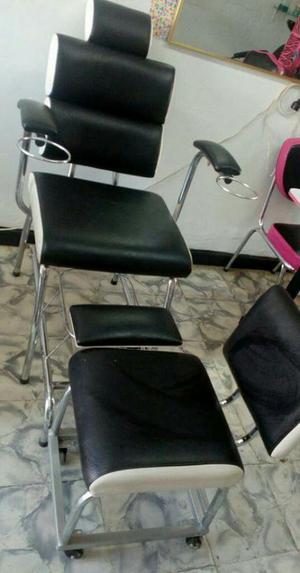 Silla manicure y pedicure posot class for Sillas para pedicure