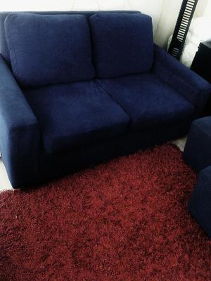 Sofa cama mas dos puff